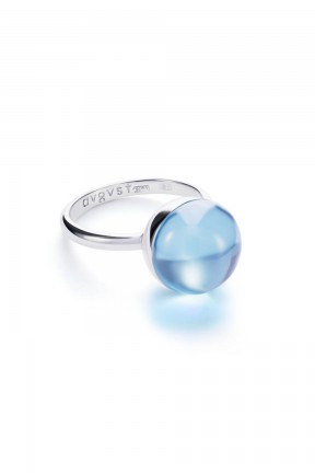 Medium Light Blue Lollipop Ring