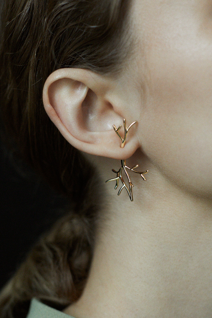 Koral Bush Single Earring