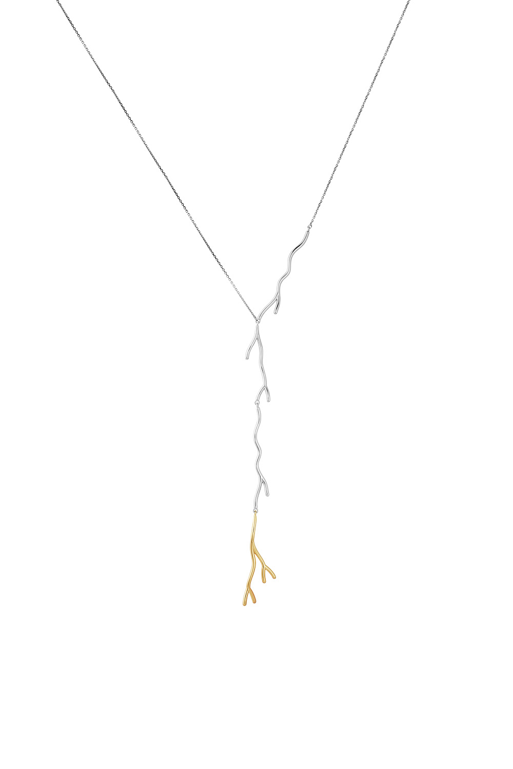 Koral Golden Tie Necklace