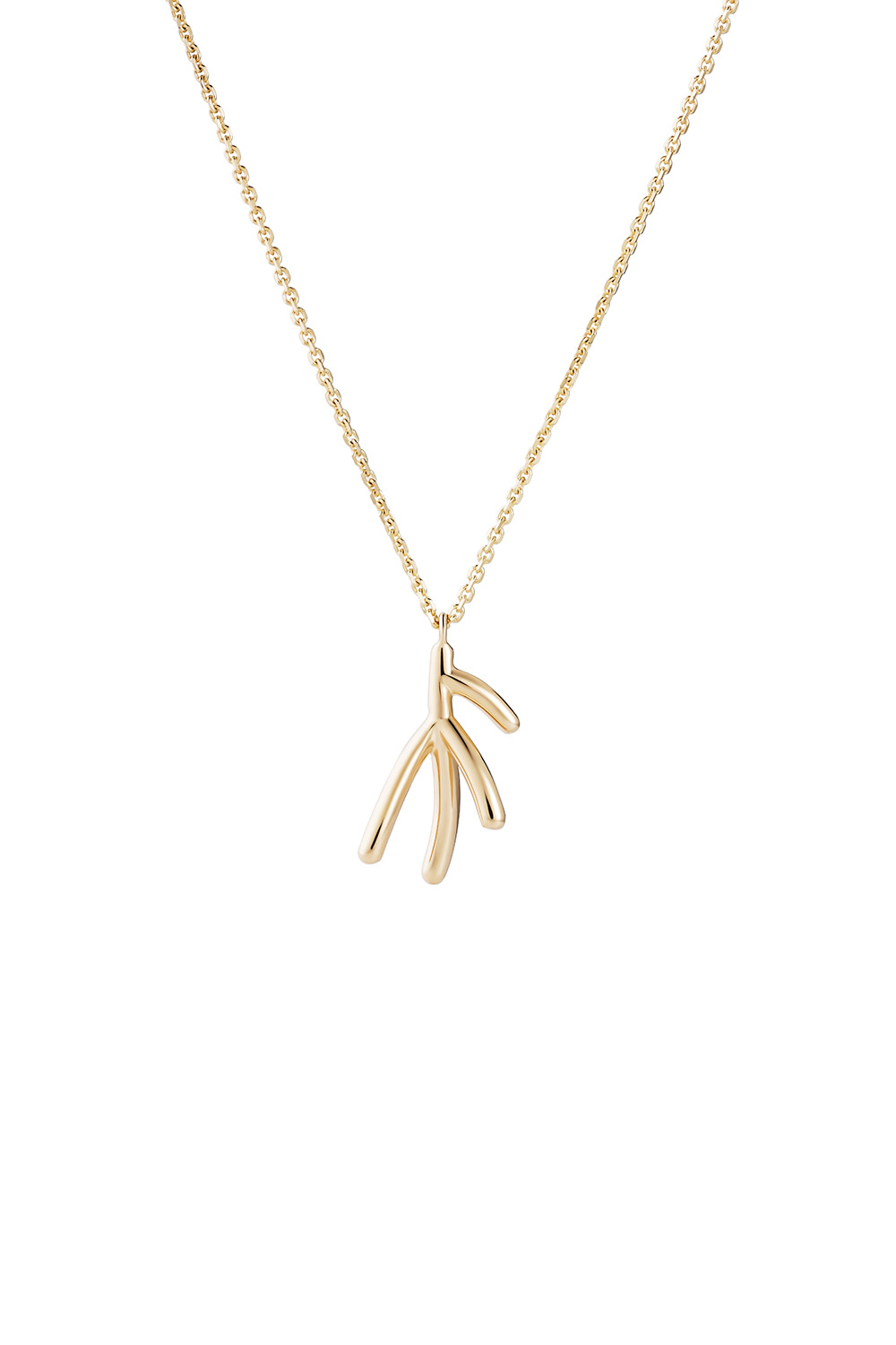 Koral Gold Micro Pendant Necklace