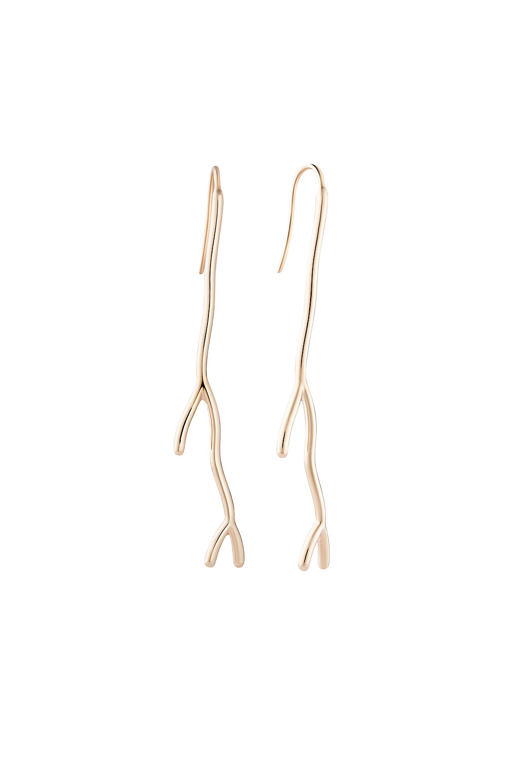 Koral Gold Rod Earrings